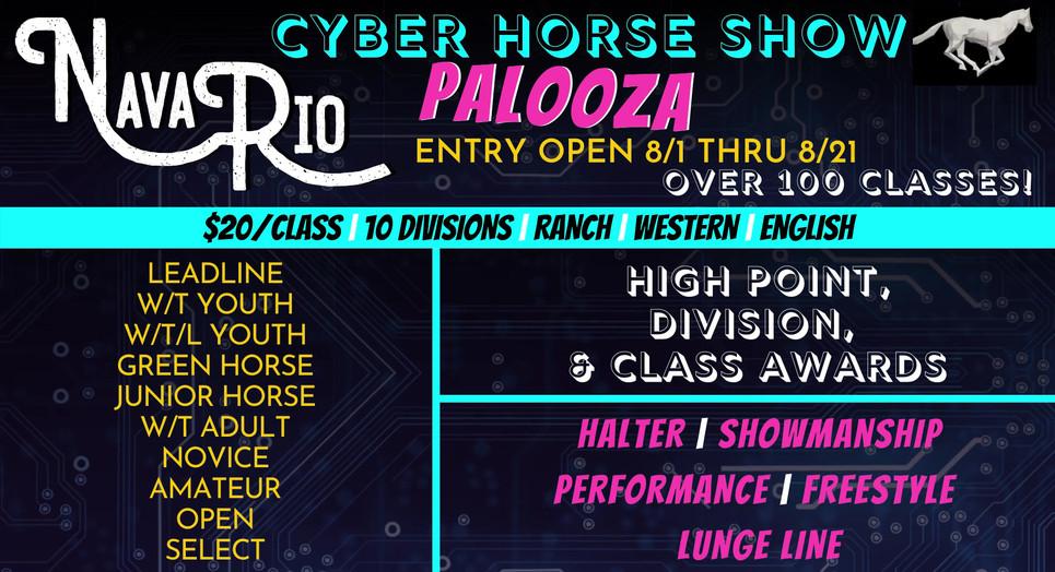 NavaRio Cyber Horse Show Palooza