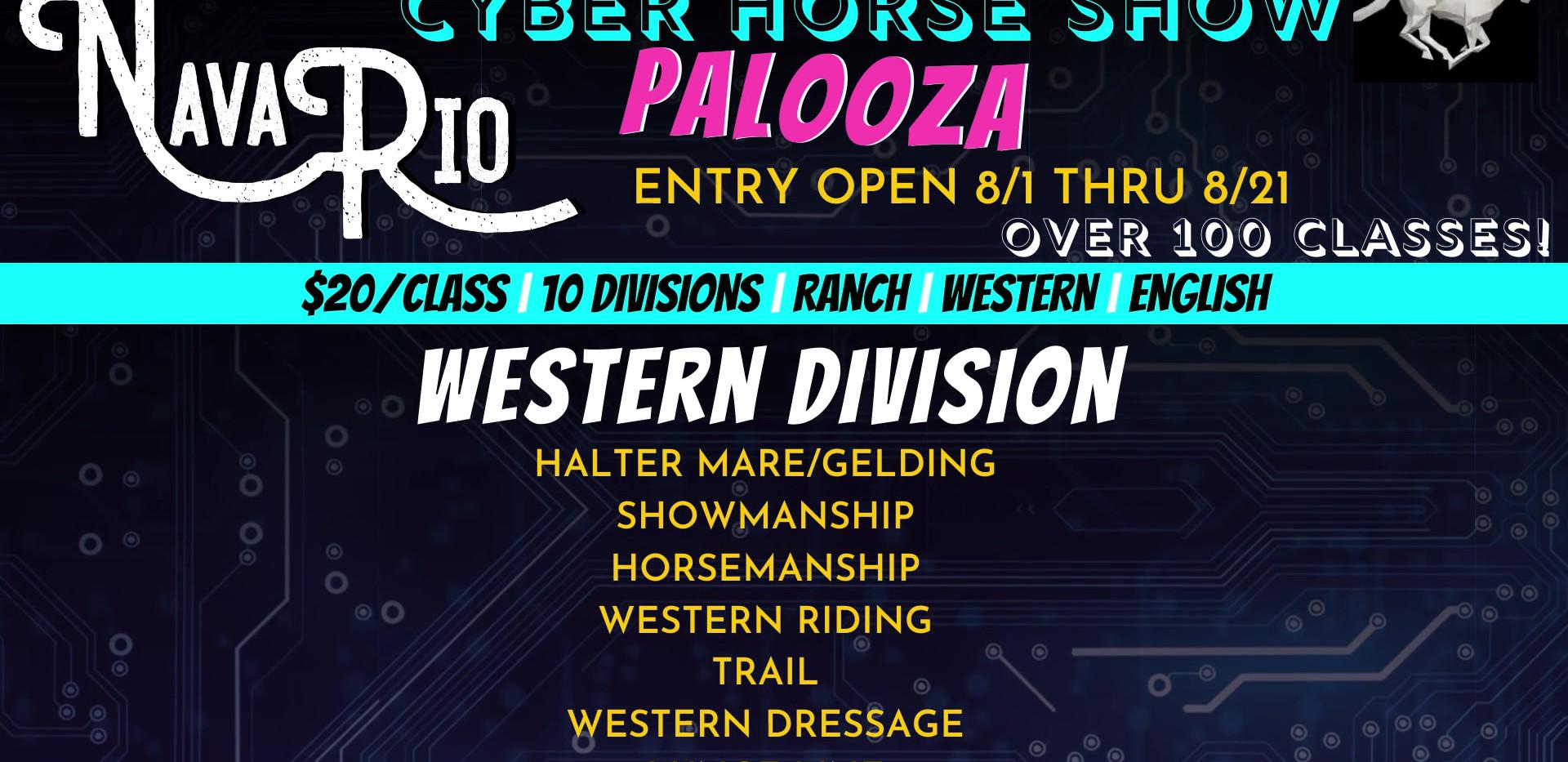 NavaRio Ranch Cyber Horse Palooza - Western Division