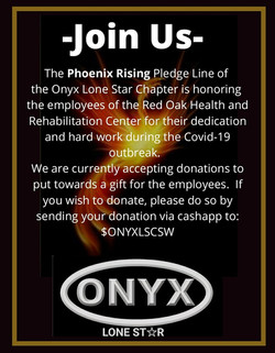 phoenix rising pledge line - fundraiser