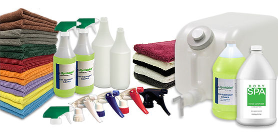 GymValet cleaning system
