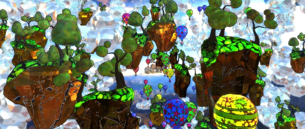 z0ne - balloons & islands level