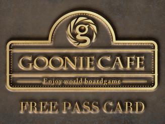 goonie cafeで遊び放題!月間フリーパスを始めます!