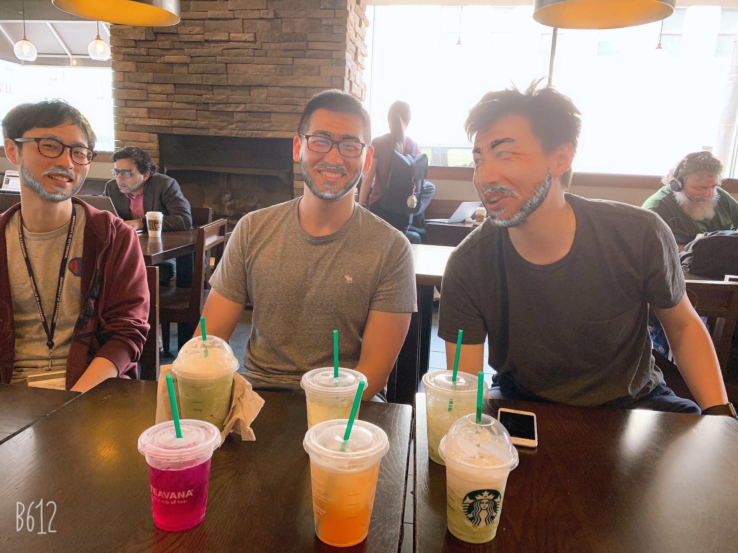 Aged Allen, Zhe & Yi