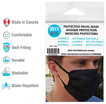 PROTECTIVE WASHABLE FACE MASKS - MADE IN