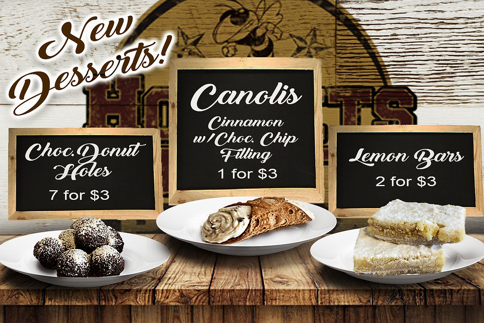 New Desserts