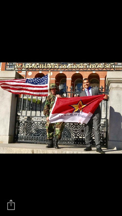 IMG_7774 - secy vet affairs honorary flag