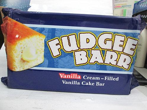 FUDGEE BARR VANILLA CREAM-FILLED VANILLA CAKE BAR