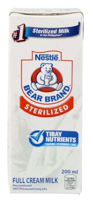 BEAR BRAND STERILIZED MILK DRINK - 4800361331500 / 32X200ML / 0.0089 / 7.50 / 12