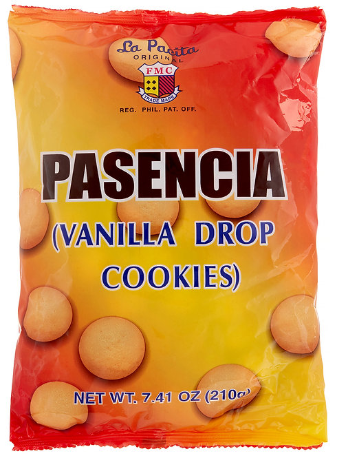 LAPACITA PACENCIA VANILA DROP - 4800070101050 / 28X210G / 0.0440 / 6.50 / 12mos.