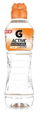GATORADE-G-ACTIVE WATER - LEMON LIME- 48039250623392 / 4X500ML /