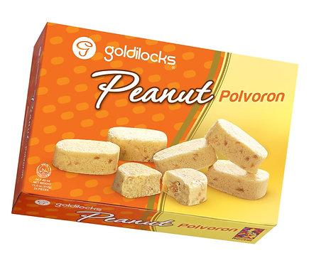 GOLDILOCKS POLVORON PEANUT - 25X12X25G / 0.0274 / 9.50 / 6mos.