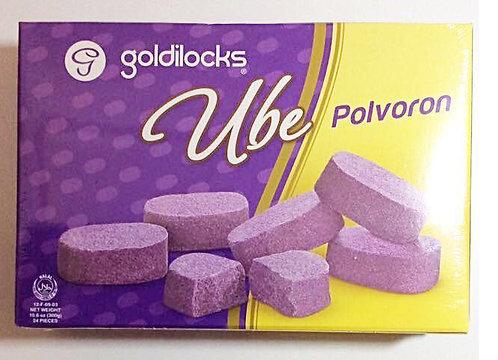 GOLDILOCKS POLVORON UBE - 4800111004449 / 25X12X25G / 0.0274 / 9.50 / 12MOS.