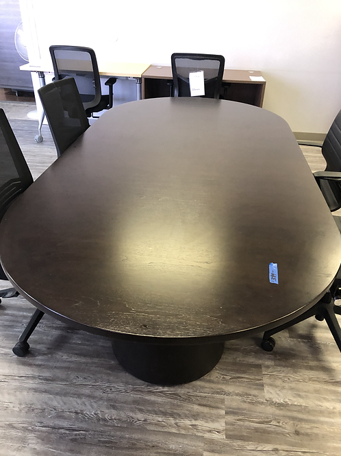 USED 8 Foot ConferenceTable in Expresso Finish