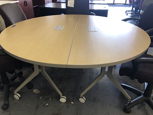 USED ROUND Conference Table