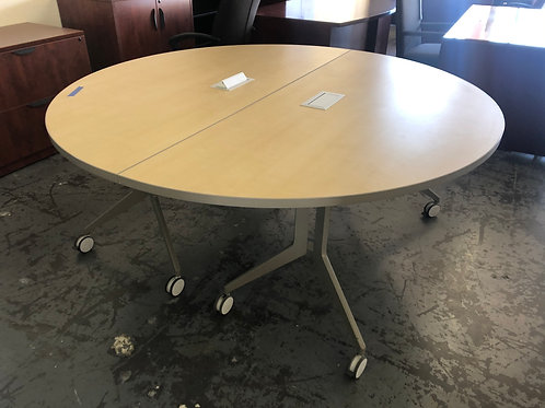 6 foot round conference table