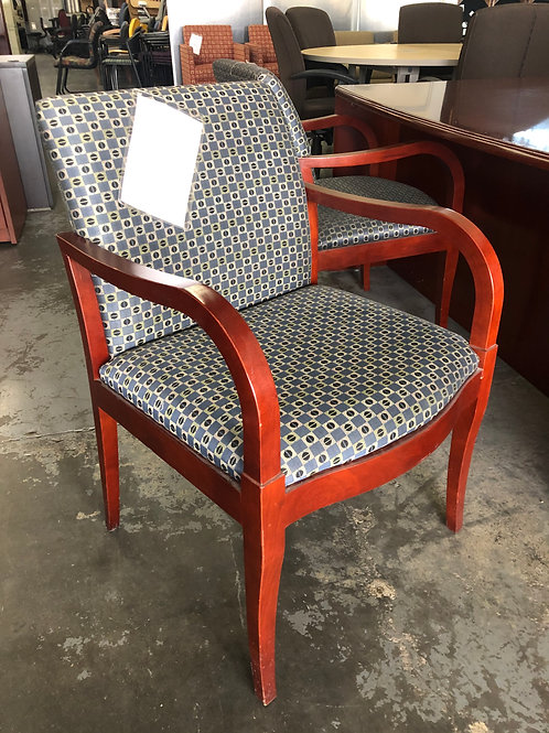Fabric Side Chair USED