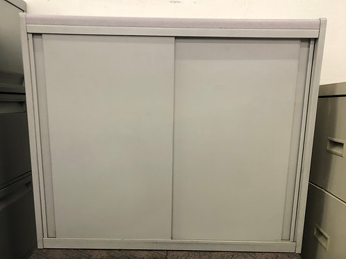 Storage Cabinet with Sliding Door USED