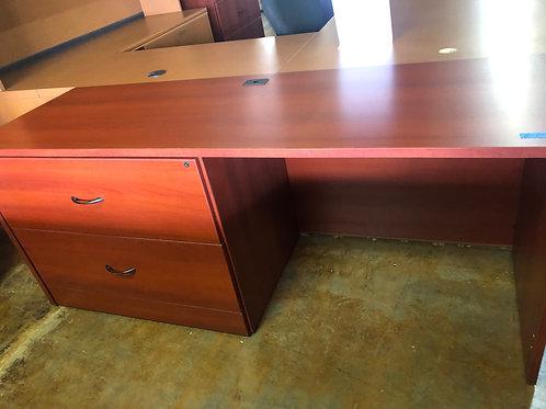 USED Desk in Cherry Finish
