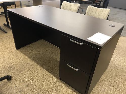 NEW Espresso Desk 30x66