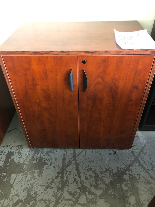 Storage Cabinet in Cherry Finish NEW