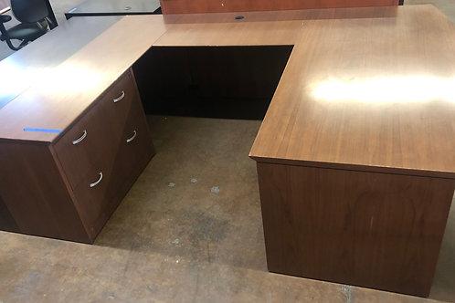 USED Shaped Desk