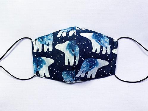 Polar bears (fabric mask)
