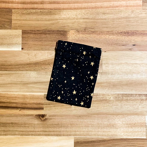 Metallic stars (pinch pouch)
