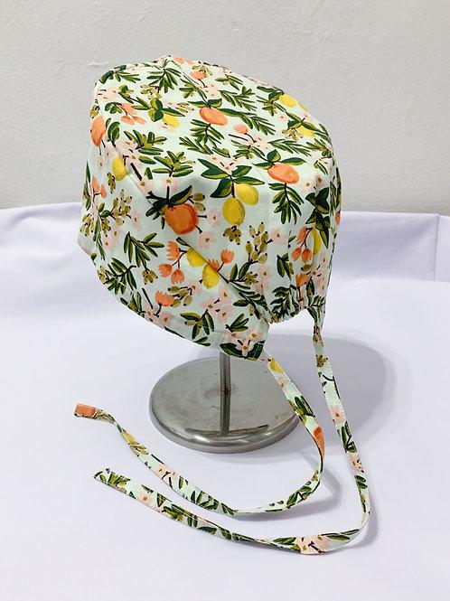 Citrus floral (scrub cap)