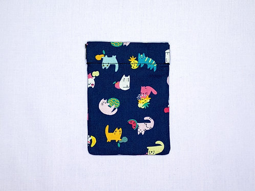 Tropical cats (pinch pouch)