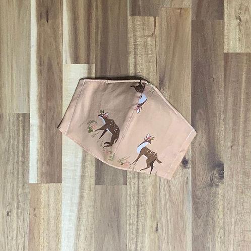 Strawberry fawn (fabric mask)