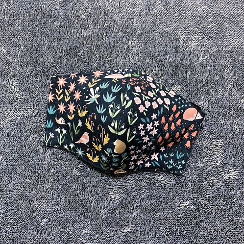 Critters & fairies (fabric mask)