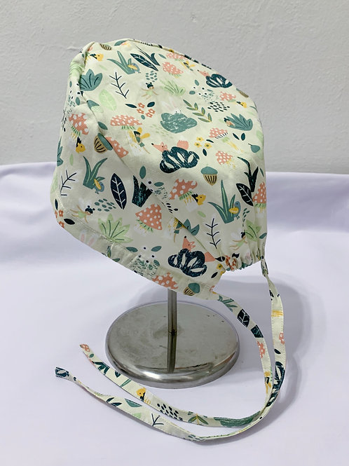 Peekaboo (scrub cap)