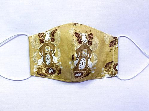 Cuckoo clock (fabric mask)
