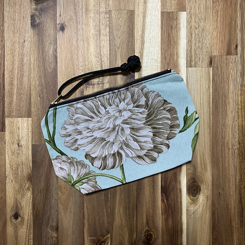 Peach peonies (pouch)
