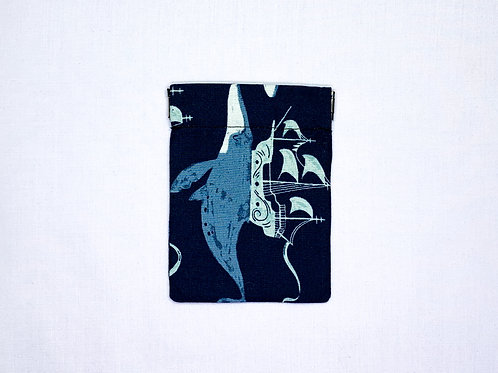 Whale ships (pinch pouch)