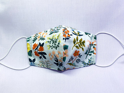 Wildflower field (fabric mask)