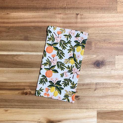 Citrus floral (cream) (pinch pouch)