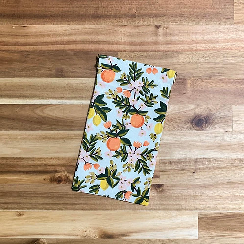 Citrus floral (mint) (pinch pouch)