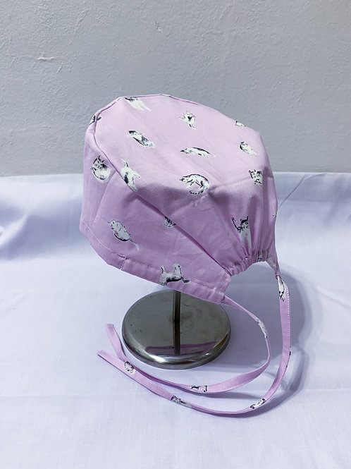 Mini cats (scrub cap)