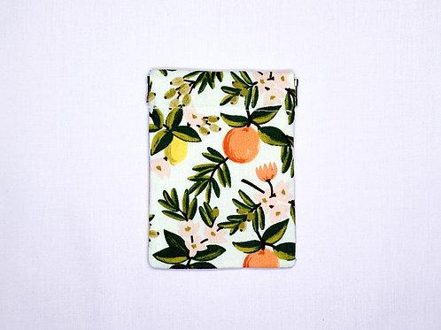 Citrus floral (pinch pouch)