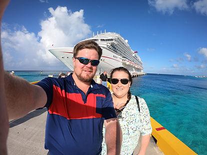 Carnival Cruise Horizon in the Grand Turk port