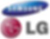Samsung and LG Logos.png
