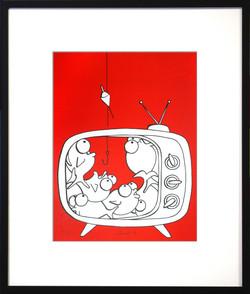 Pesci in TV
