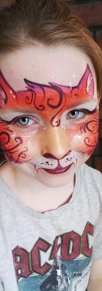 Kids Face Art- Kitty