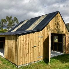 Garage, Workshop & Logstore