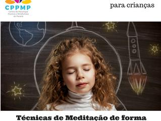 Curso de Mindfulness para ensinar a prática para crianças