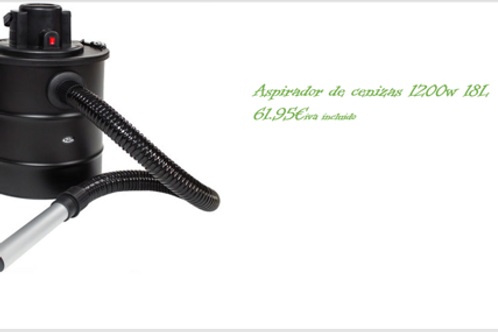 ASPIRADOR DE CENIZAS  18L