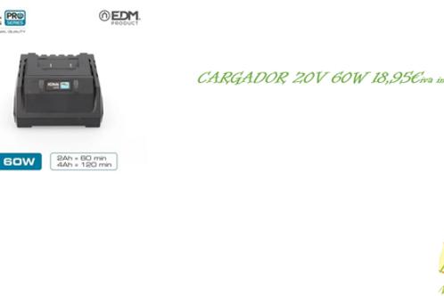 CARGADOR 20V 60W