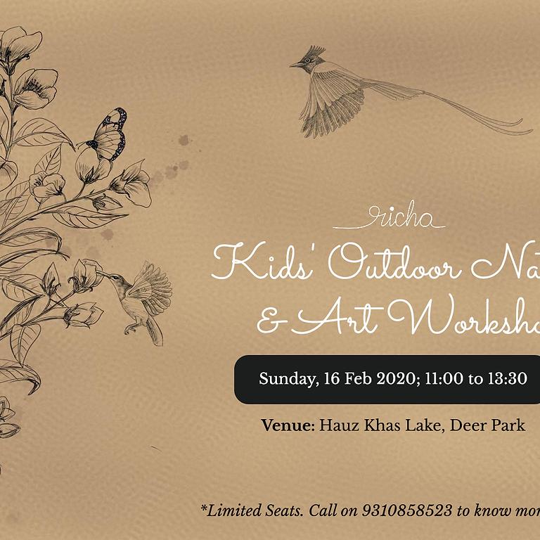 Outdoor Nature Appreciation & Sketching Workshop