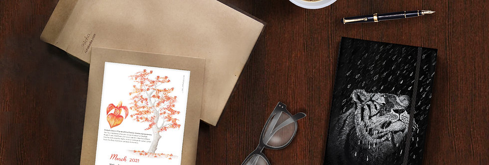 Combo Offer: Calendar 2021 + Journal